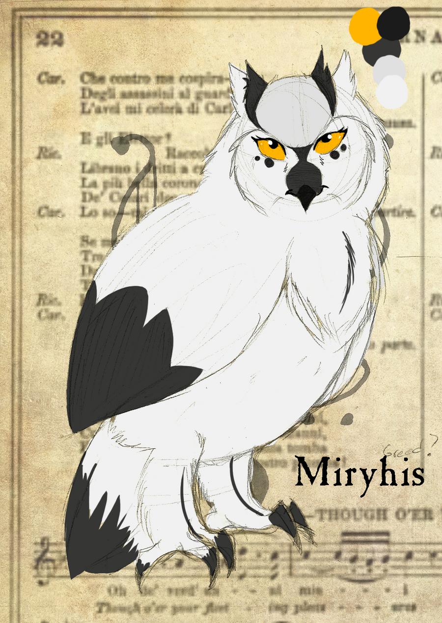 Corvidea Ref by miryhis