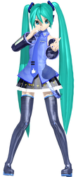 NEW DT FACEBOOK MIKU by frede15