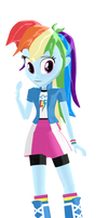 MMD Rainbow Dash