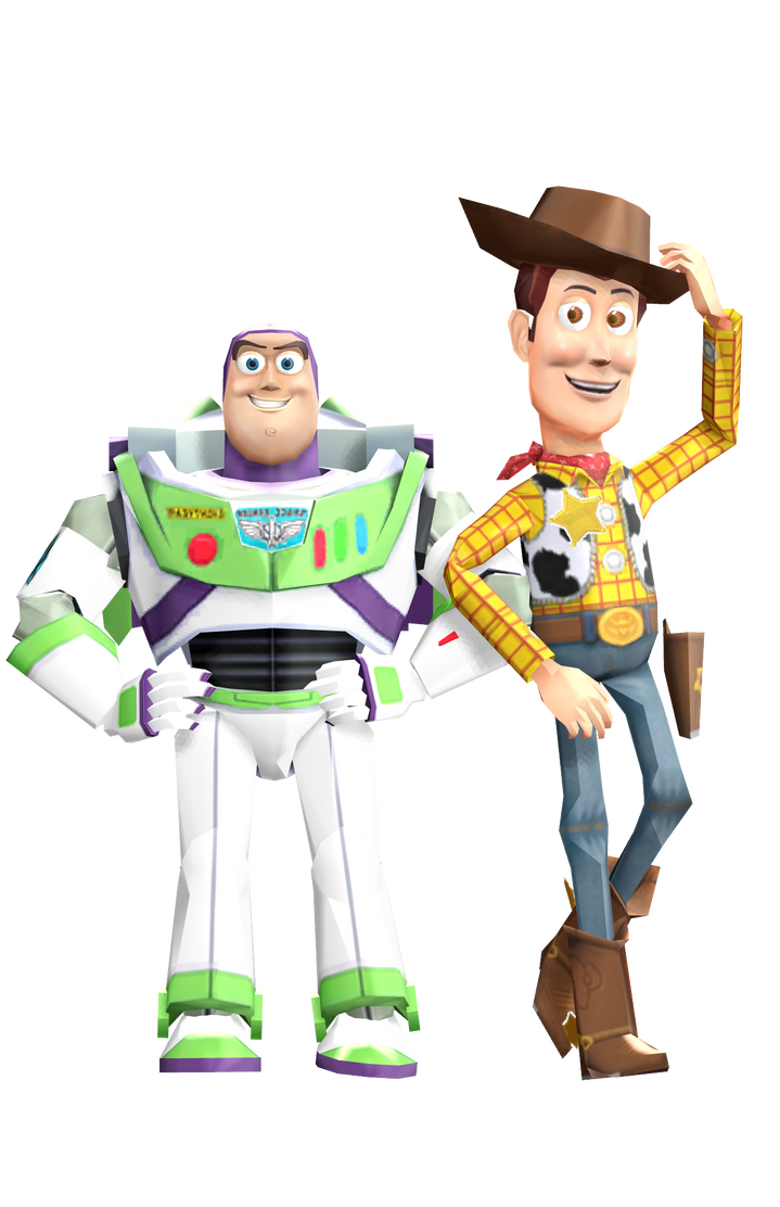 mmd woody and buzz by frede15 on deviantart
