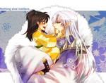 Sesshomaru and Rin by gatch-lv1