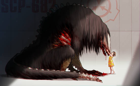 SCP-682 and SCP-053