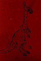 Creepy Giraffe Creature
