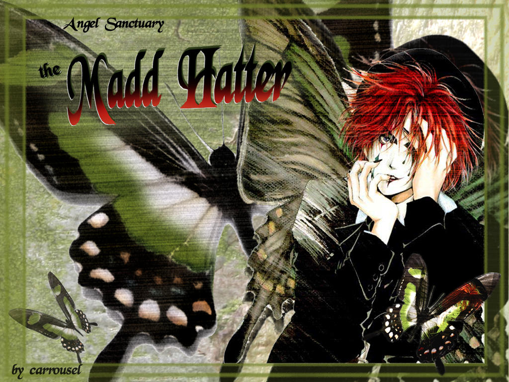 angel sanctuary mad hatter - photo #5
