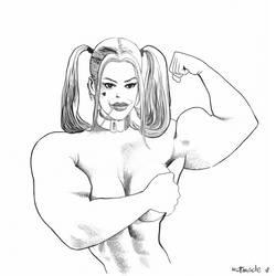 Harley Quinn by fabiovalentini
