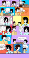 Masky and Jeff derp comic