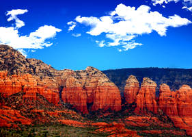 The Red Rocks of Sedona by fileboy