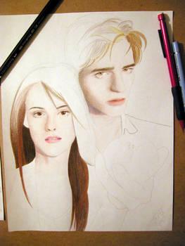 Twilight, Ed n Bella WIP 1