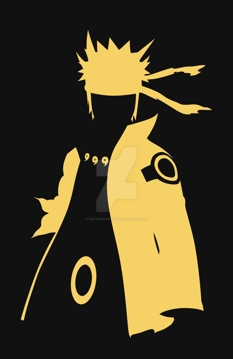 Naruto Sage Of Six Paths Minimal Phone Case By Definingartz On