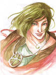 Watercolor Portrait: Kentayu