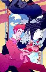 Downswept: Prince Gumball and Marshall Lee