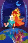 Mirror World: Finn and Flame Princess