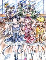 Naruto in Ballet Class by flightangel