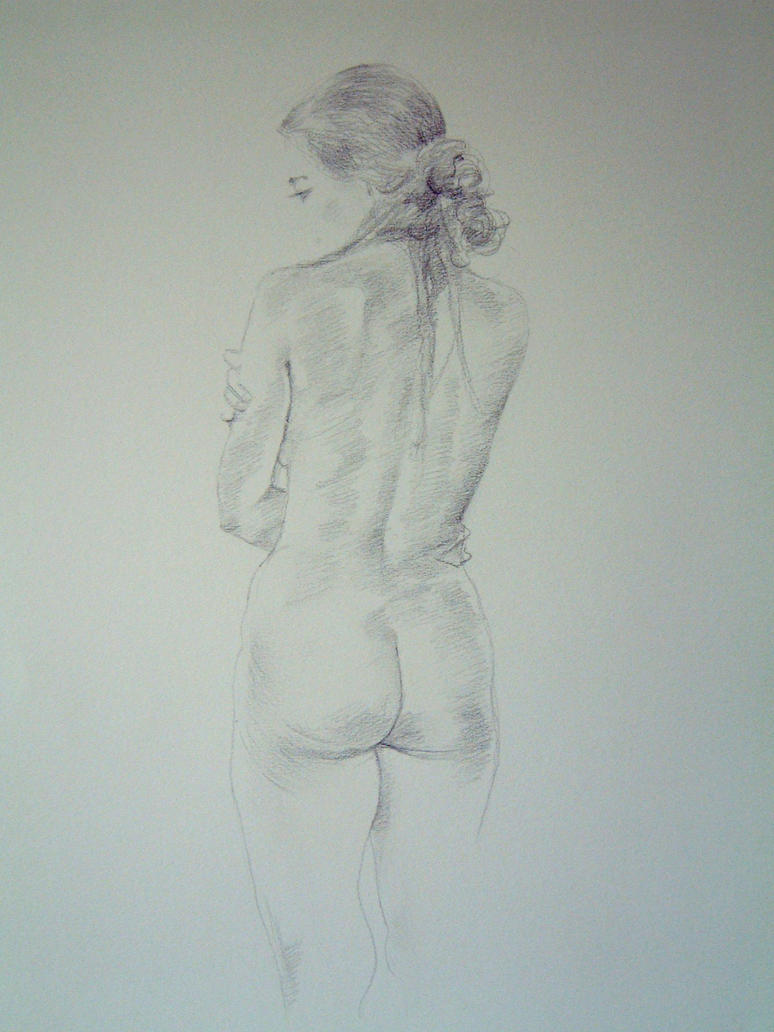 Nude Standing Female by neils40