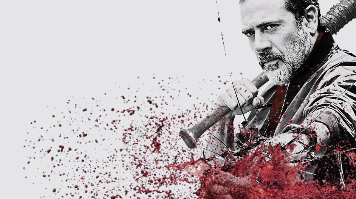 The Walking Dead Negan Wallpaper: Wallpaper TWD Negan By Daemonica666 On DeviantArt