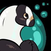 Panda Loach Icon by robotticrabbit