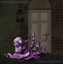 Grimer by Pokeaday