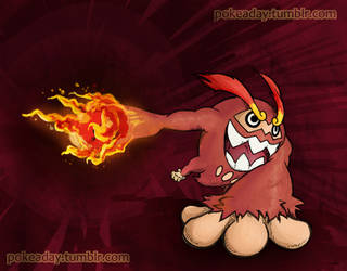 Fire Punch by Pokeaday