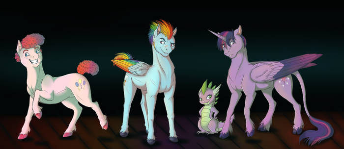 Male Little Pony (Part 1)