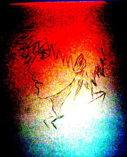 Ichigo-Bleach (digital) by AlexhisJane