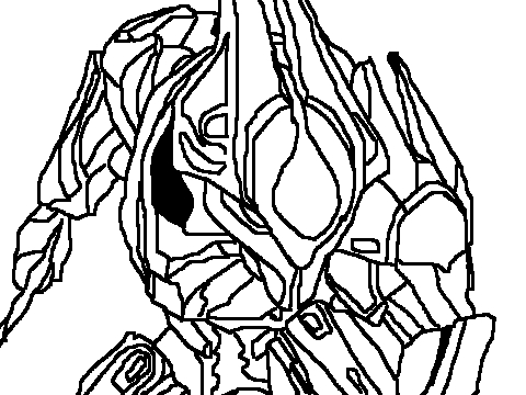 Elite Ultra Coloring Page By Deltaghost55