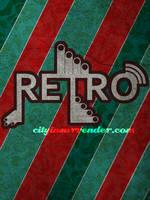 Retro typography poster by ditalento