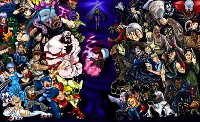 Capcom Vs Horror by DonnellyArt
