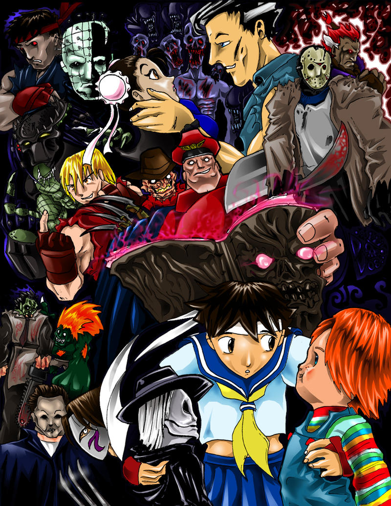 Horror Vs Capcom Teamupsby Shin Jason