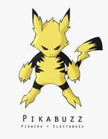 Hybrid Pokemon: Pikabuzz by contaminateddirt