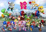 Mario and Sonic London 2012
