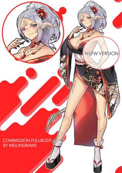 [COMMISSION] Fullbody to Ceana