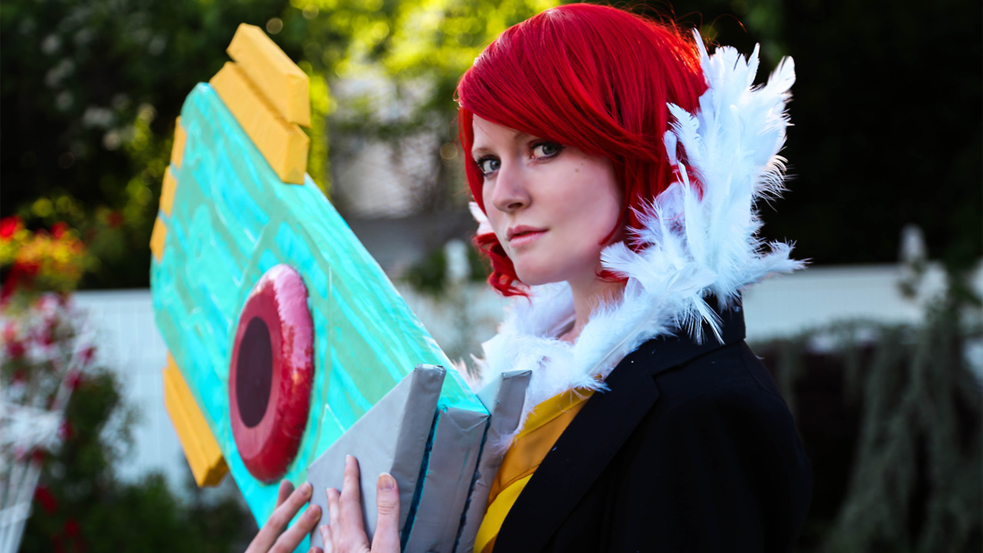 Transistor Game Cosplay - PS'd Wallpaper by Troypc on DeviantArt