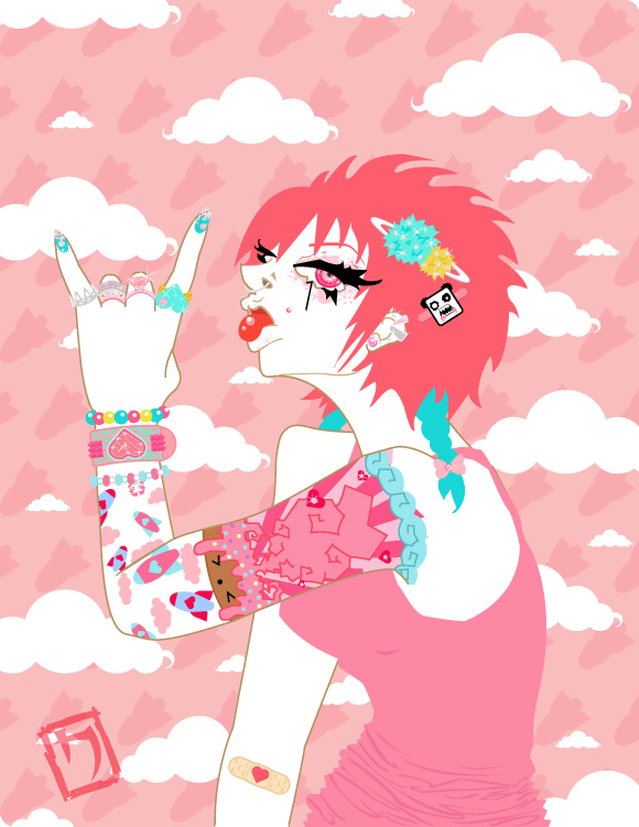 Rock It Sugary Sweet by Nocty