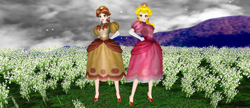 Peachette And Daisyette DL