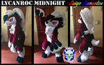 Lycanroc midnight fursuit