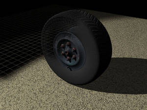 Tire and rust 3D test