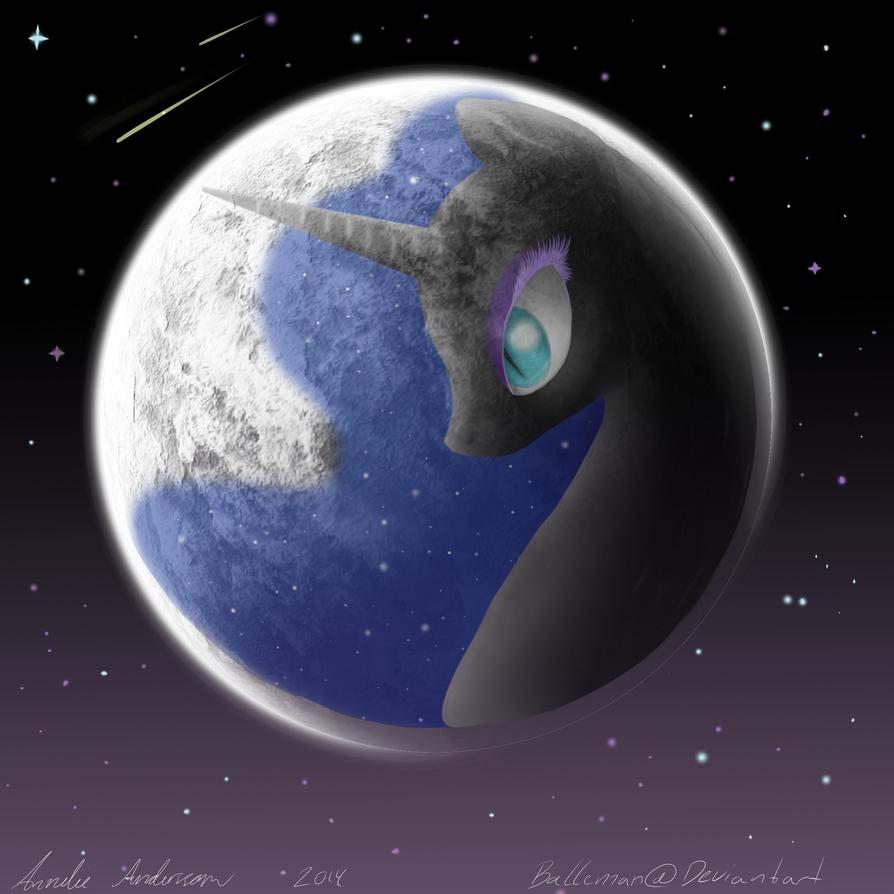 Nightmare Moon by UncertainStardust on DeviantArt   Nightmare Moon Moon