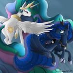 Celestia And Luna - Forever synced