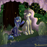 Celestia and Luna - Fireflies by DreamyArtCosplay