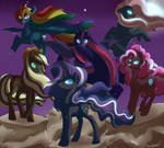 Night mane six - In the dead of the night