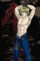 Leon Scott Kennedy by DarkFangMistress