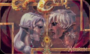 Tarot Card Dragon Age - Overfall