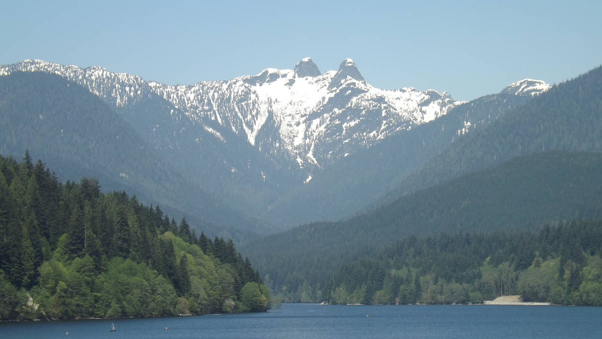 The Lions and Capilano Lake