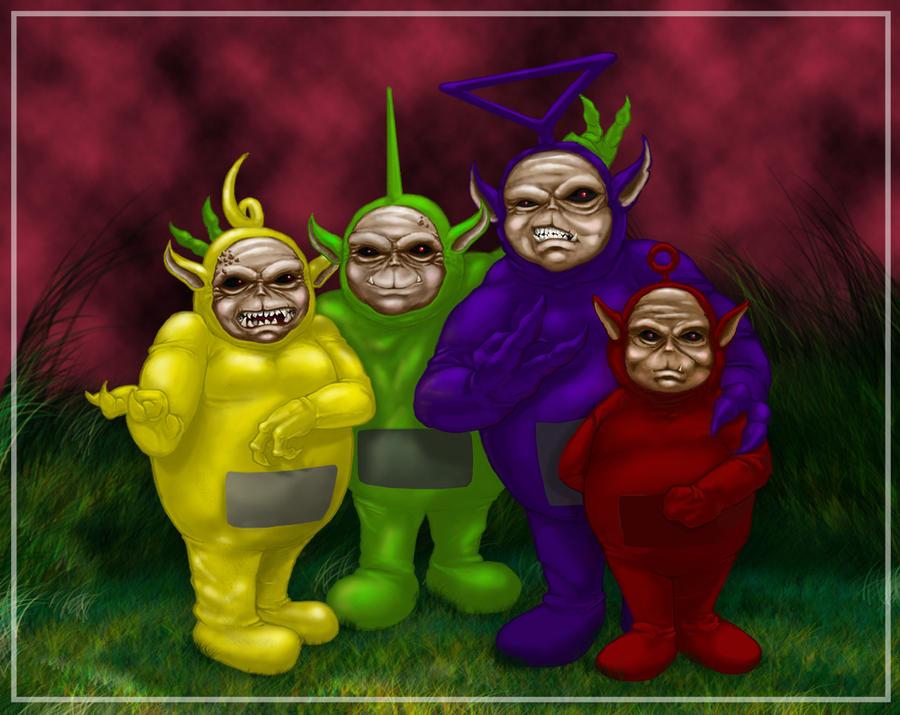 Dark Tubbies by cromzl