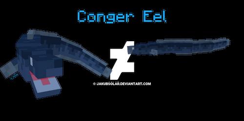 Blockbench Conger Eel