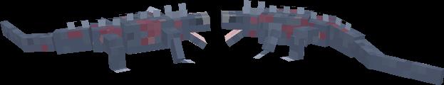 Blockbench Marine Iguana
