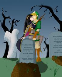 Zelda/Fire Emblem - A Grim Kiss by DragonRex1