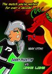 Danny Phantom vs Jake Long Poster V1