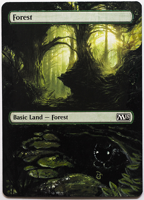 Altered Card - Forest by DarkPati