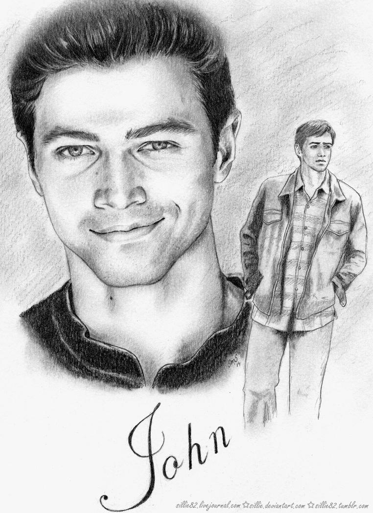 Jib5 artproject young john winchester by sillie
